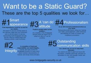 Static guard graphic